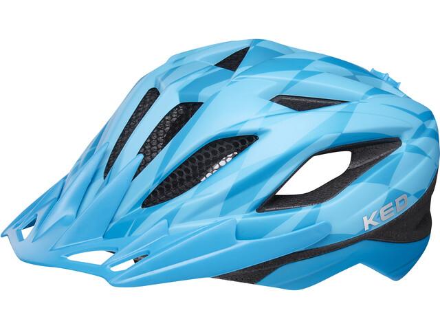 KED Street Jr. Pro Kask rowerowy Dzieci niebieski